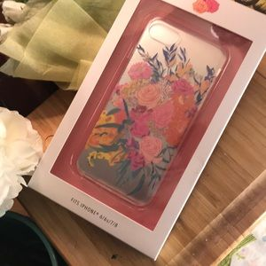 ANTHROPOLGIE, phone case, NWT, floral watercolors